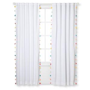 NWT Pillowfort Tassel Blackout Curtain Panel